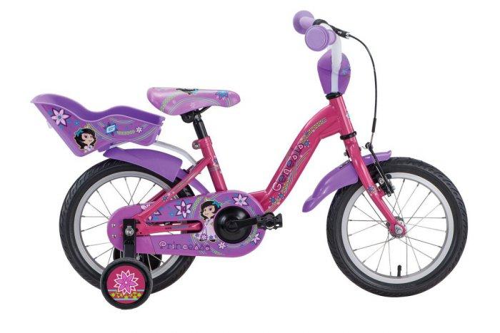 015e03dbdb6da Detský bicykel 14 ʺ. Je vhodný pre deti od 3 rokov. Nachádzajú sa na ňom aj  podporné kolieska, ktoré pomáhajú vášmu dieťaťu držať stabilitu.