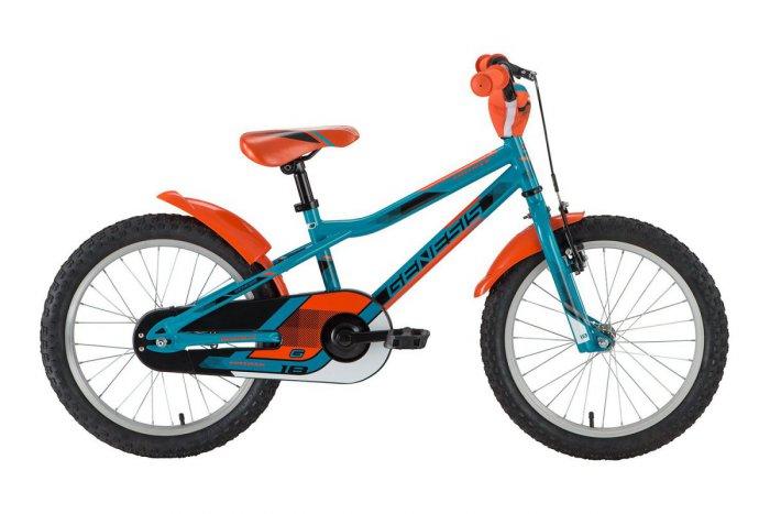 73a14b3ddf2fb Detský bicykel 18 ʺ. Tento bicykel je určený pre deti vo veku 5–6 rokov.  Väčšina bicyklov tejto veľkosti už obsahuje aj podporný stojan.